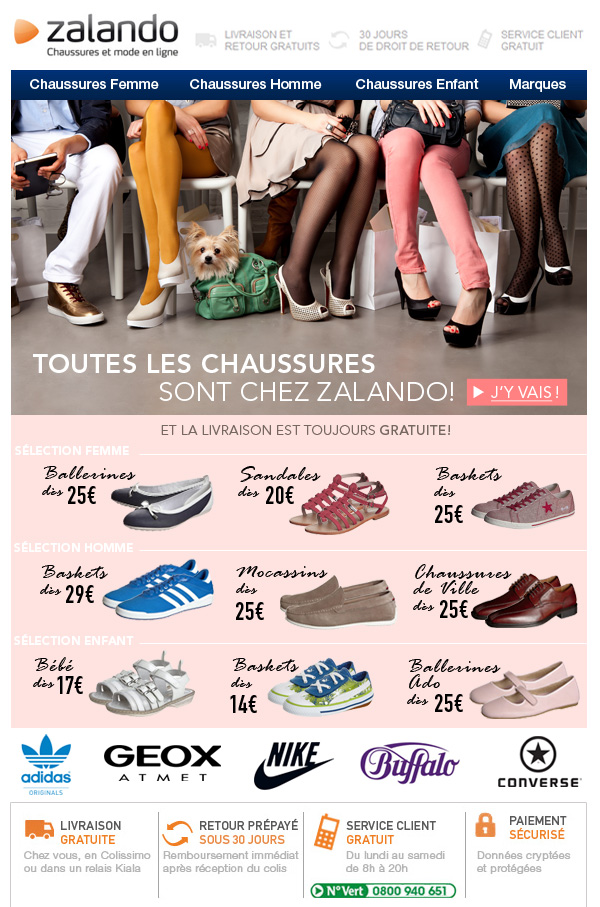 Chaussures chez Zalando
